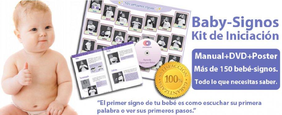 Baby Signos Kit de iniciación