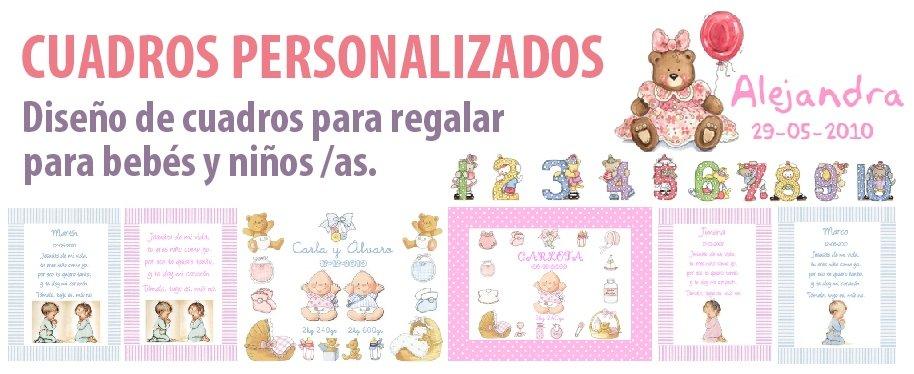 Ver cuadros personalizados para bebés
