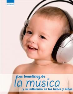 beneficios de la musica en bebes y niños