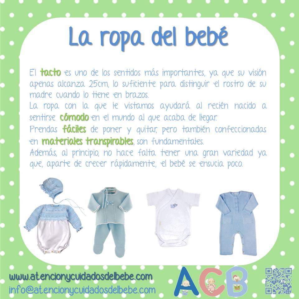 la ropa del bebe