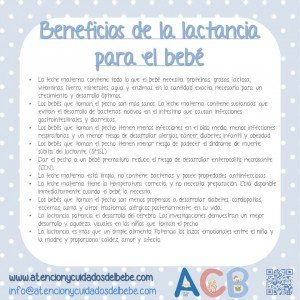 beneficios lactancia bebe
