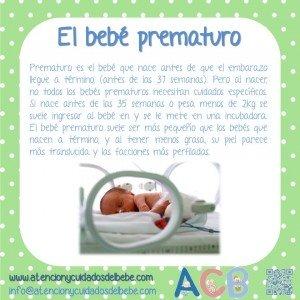 el bebe prematuro