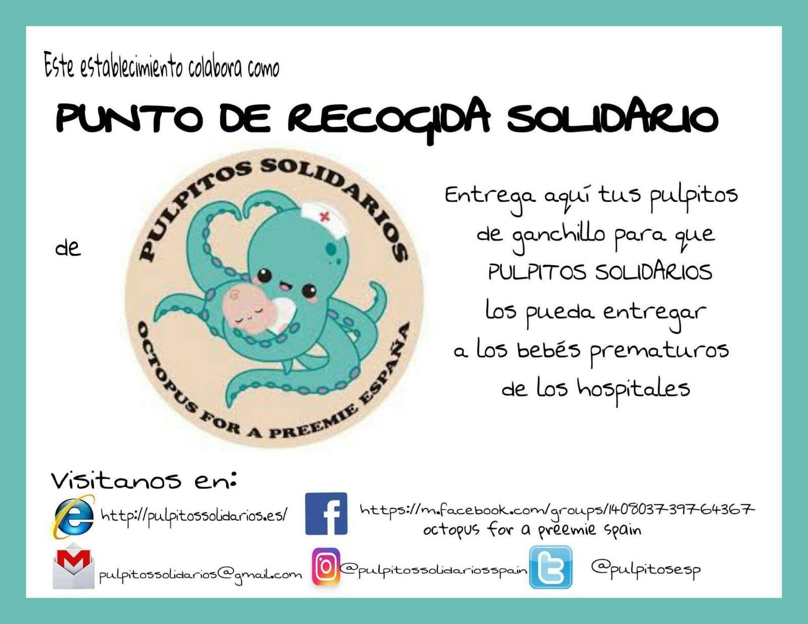 Pulpitos solidarios (octopus for a preemie) - ACB