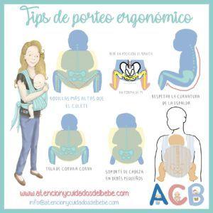 tips de porteo ergonomico